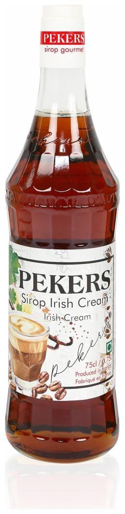 Pekers Irish Cream syrup 750 ml ( Pack of 1 )