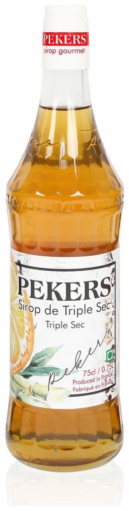 Pekers Triple Sec syrup 750 ml ( Pack of 1 )