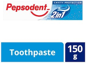 Pepsodent 2 In 1 Cavity Protection 150 g