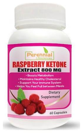 Perennial Lifesciences Raspberry ketone (Garcinia Cambogia + Green Tea ) Extract (60 Capsules)