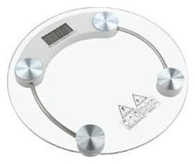 Personal Weighing Scale with 8mm Glass Top