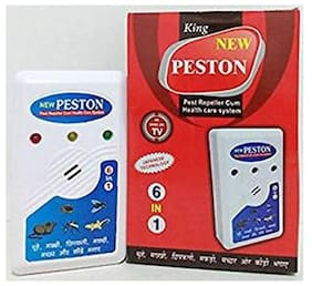 Peston Electronic Ultrasonic PEST Repeller Cum Health Care System Effective on Mice, Bugs, Lizards, Spiders, Mosquitoes
