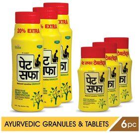 Pet Saffa Constipation Relief Combo - II (Powder & Tablets)