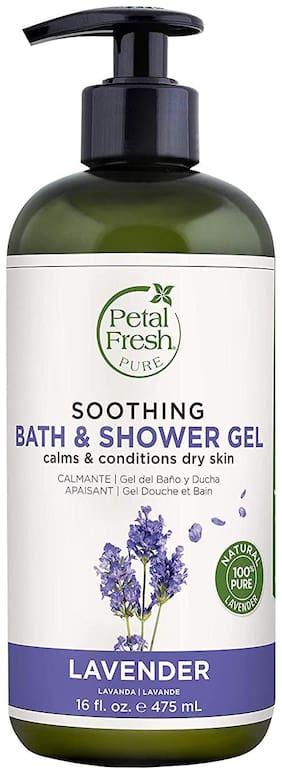 Petal Fresh Pure Lavender Bath & Shower Gel 475ml Pack of 1