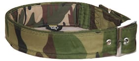 Pethub Dog Collar With Padding Army Design 1.5