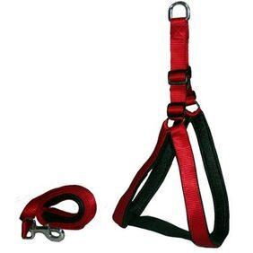 Pethub High Quality And Stylish Nylon Dog Harness Medium 1 Red