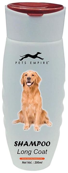 Pets Empire Long Coat Dog Shampoo, 200 ml