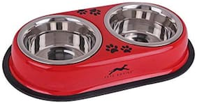 Pets Empire Dog Bowl Double Diners (Pack of 2)
