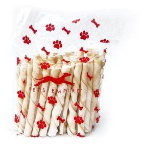 Pets Empire dog chew treat food white sticks (250 Grams)