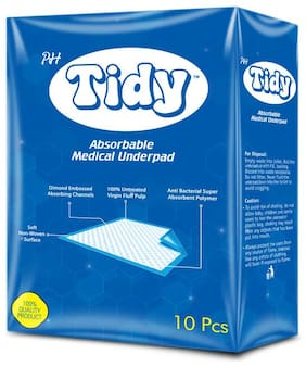 PH Tidy Underpads (90*60 cm) 10 pcs (Pack of 1)