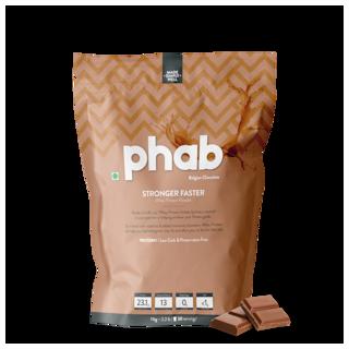 Phab Protein Powder Belgian Chocolate 1kg