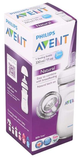 Philips Avent Natural Bottle 330ml (Single Pack)
