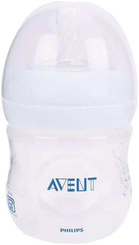 Philips Avent 125ml Natural Feeding Bottle (Clear)