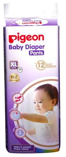 Pigeon Baby Xtra Large - 28 Diaper Pants 28 pcs