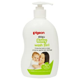 Pigeon Baby Wash 2-In-1 - Sakura 500 ml