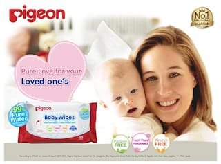 Pigeon Baby Wipes Water Base 30 Sheets