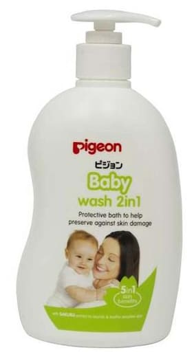 Pigeon Baby Wash 2 In 1 Sakura 500 ml
