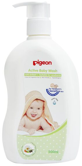 PIGEON BABY WASH 500 ml