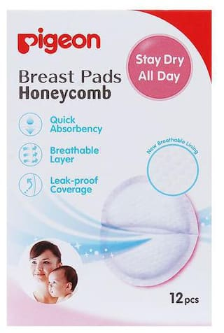 Pigeon Breast Pads Honeycomb - Small Pack 12 pcs