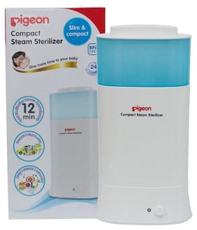 Pigeon Compact Steam Steriliser Bottles - Round