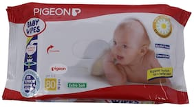Pigeon Extra Soft 80 Wipes