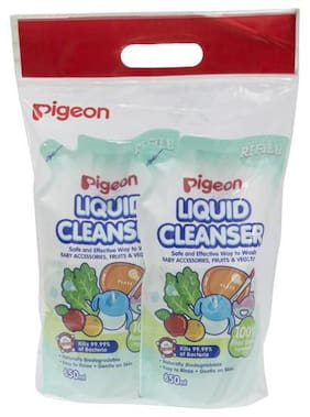 Pigeon Liquid Cleanser Refill 650 ml Combo (650 ml Pack of 2)
