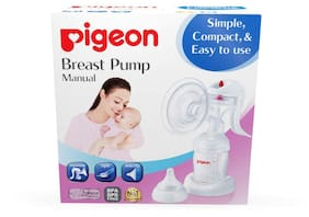 Pigeon Manual 2 Phase Breast Pump (Multi Color)