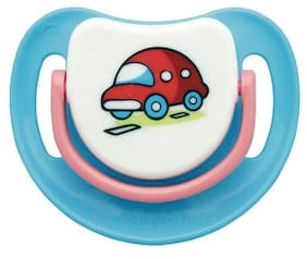 Pigeon Silicone Pacifier Step 1 - Car 1 pc