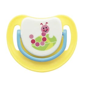 Pigeon Silicone Pacifier Step 2 - Caterpillar 1 pc