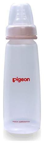 Pigeon Standard Neck Nursing Bottle Kpp With S-Type - Pink 240 ml