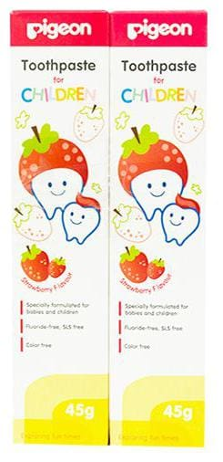 Pigeon Toothpaste Combo - Strawberry 90 gm