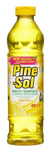 Pine Sol Multi-Surface Cleaner And Deodorizer - Lemon Fresh 827 ml