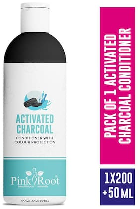 Pink Root Activated Charcoal Conditioner (200+50)ml