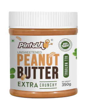 Pintola All Natural Peanut Butter(Extra Crunchy) 350 gm