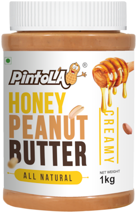 Pintola All Natural Honey Peanut Butter 1 kg (Creamy)
