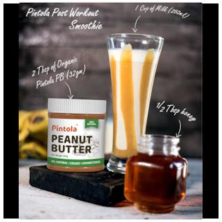 Pintola All Natural Peanut Butter 1 kg (Crunchy)