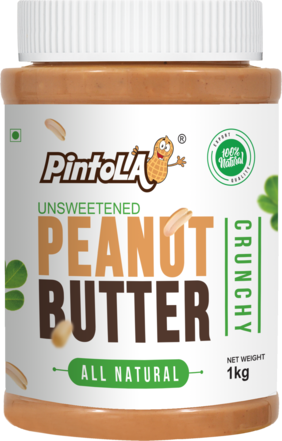 Pintola All Natural Peanut Butter 1 kg (Crunchy)