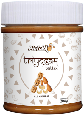 Pintola All Natural TRIYOGAM Butter 200g Pack of 1