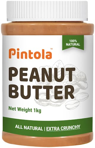 Pintola All Natural Peanut Butter(Extra Crunchy) 1 kg
