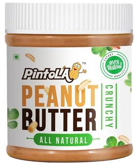 Pintola All Natural Peanut Butter 350 gm (Crunchy)
