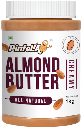Pintola All Natural Almond Butter 1 kg (Creamy)