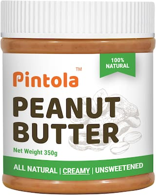 Pintola All Natural Peanut Butter 350 g (Creamy)