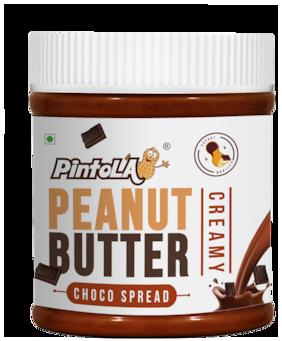 Pintola Choco Spread Peanut Butter 350 gm (Creamy)