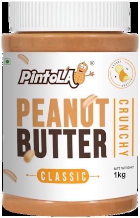 Pintola Classic Peanut Butter 1 kg (Crcuncy)