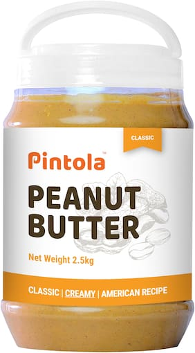 Pintola Classic Peanut Butter 2.5 kg (Creamy)