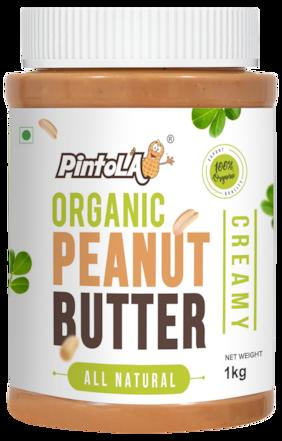 Pintola Organic Peanut Butter 1 kg (Creamy)