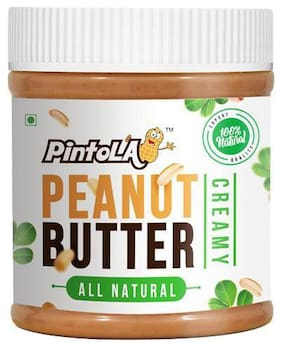 Pintola Peanut Butter - Creamy, All Natural 350 g