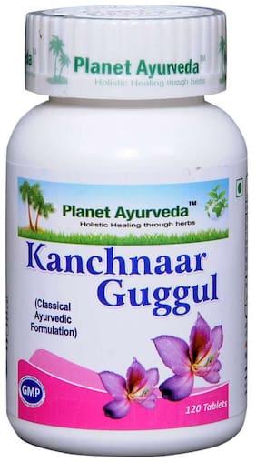 Planet Ayurveda Kachnaar Guggul (2 bottles - 120 tablets Each)