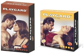 Playgard Choclate 10s +  butterscotch 3s   - Pack Of 2