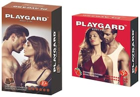 Playgard Choclate 10s + strawbeery 3s   - Pack Of 2